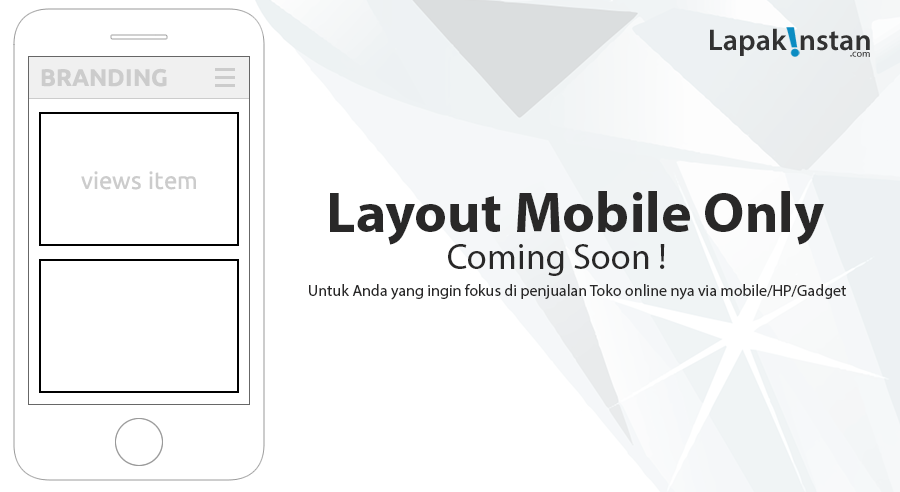 Layout Mobile Only !