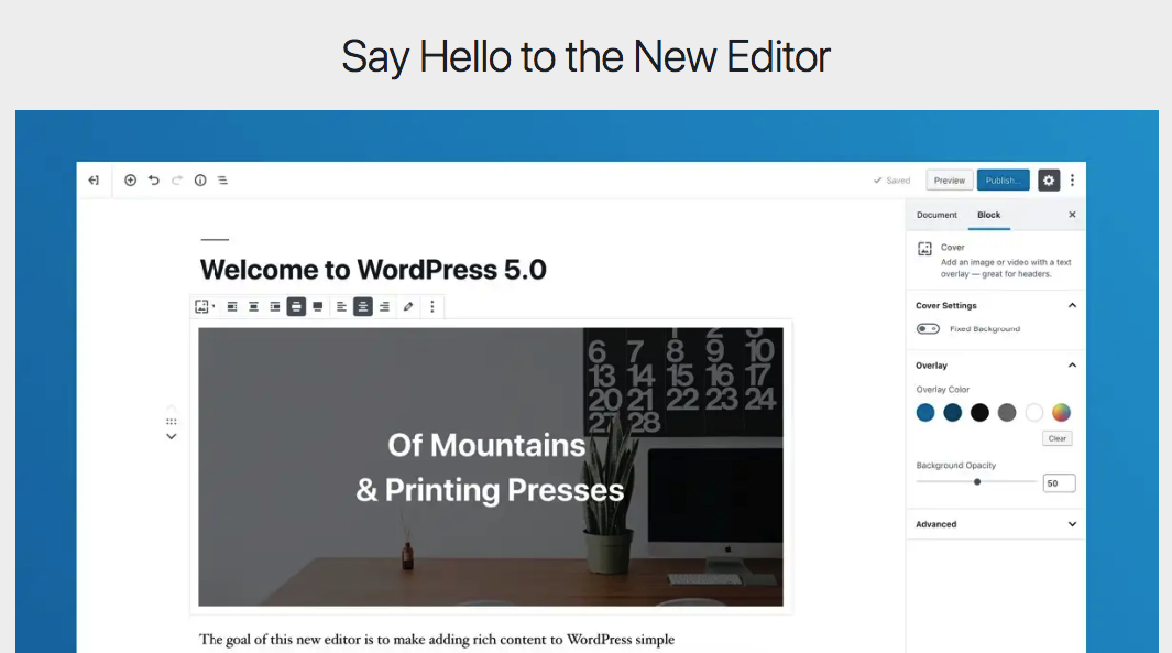 Sebelum Update WordPress 5.0